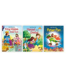 Great Fairy Tale Large Print Story Book Combo of 3 - English