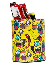The Crazy Me Quirk Up Pen Stand - Yellow