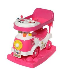 ToyZone Educational 3 in 1 Rider - Pink