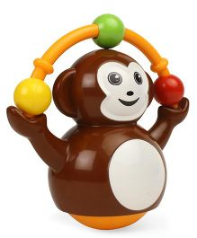 Giggles Push & Crawl Monkey Toy - Brown