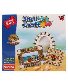 Funskool Shell Craft Activity Kit - Multicolor