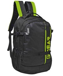 F Gear Boshida Backpack With Laptop Compartment Black Green - 18 Inches