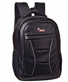 F Gear President Backpack With Laptop Compartment Black - 18 inches