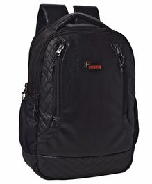 F Gear Samurai Casual Backpack With Laptop Copmpartment Black - 18 inches