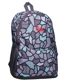 F Gear Saviour Casual Backpack Grey Blue - 16.5 inches