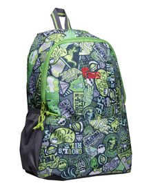 F Gear Saviour Casual Backpack Multiprint Green - 16.5 inches