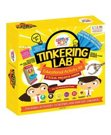 Genius Box 5 in 1 Activity & Learning Tinkering Lab Educational Activity Kit