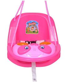 Funride Beetle Musical Swing - Pink