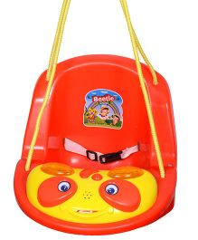 Funride Beetle Musical Swing - Red