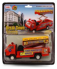 Centy Toys Pull Back DCM Break Down Services Truck - Red