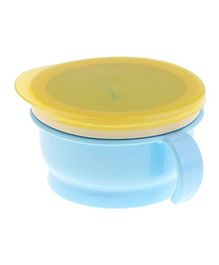 Syga Feeding Bowl Snack Catcher Bowl - Blue