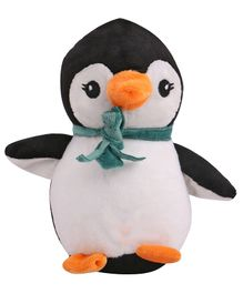 Skylofts Suction Hook Up Penguin Soft Toy White Black - Height 18 cm