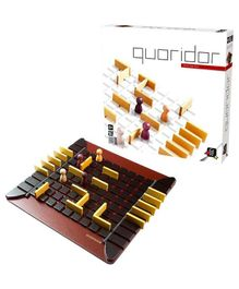 Gigamic Wooden Quoridor Game - Multicolor