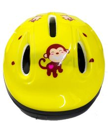 Emob Helmet Monkey Print (Colour May Vary)