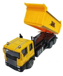 Emob Battery Operated Die Cast Metal Dump Truck - Yellow