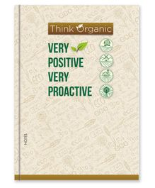 La Kaarta Proactive A5 Size Diary Off White - 224 Pages