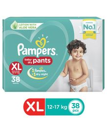 Pampers New Extra Large Size Diapers Pants - 38 Pieces