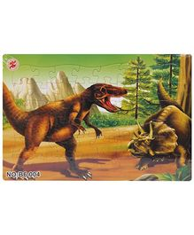Fab N Funky Dinosaurs Puzzle Set - 72 Pieces