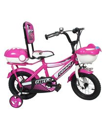 Cosmic Force Kids Bicycle Pink - 12 inches