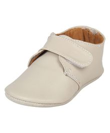Beanz Velcro Closure Casual Wear Shoes - Cream