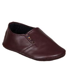 Beanz Lil Prammy Pram Shoes - Brown