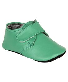 Beanz Montana Pram Shoes - Green