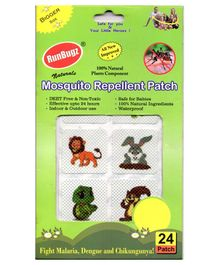 RunBugz Mosquito Repellent Patch Animal Print - Pack Of 24