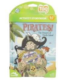Leap Frog Activity Storybook  Pirates The Treasure Of Turtle Island