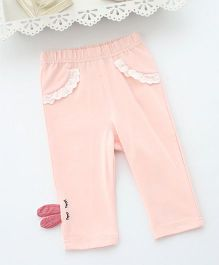 Pre Order - Awabox Bunny Eyes Full Length Leggings - Pink