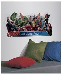 Asian Paints Avengers Wall Sticker - Multi Color