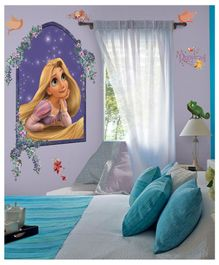 Asian Paints Disney Rapunzel Wall Sticker - Blue
