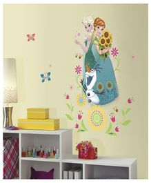 Asian Paints Disney Frozen Giant Wall Sticker - Green