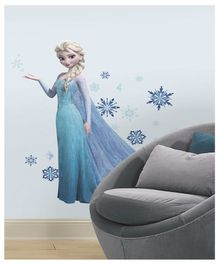 Asian Paints Disney Frozen Elsa Wall Sticker - Blue