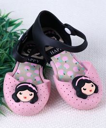 Cute Walk by Babyhug Sandal Style Clogs - Light Pink