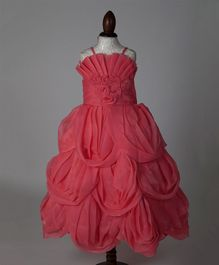 WhiteHenz Clothing Sea Shell Ball Gown - Pink