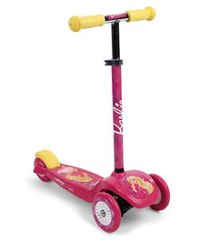Barbie 3 Wheel Scooter - Pink
