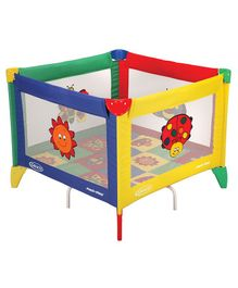 Graco Pack N Play Square Bugs Quilt Playard - Multicolour