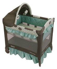 Graco Winslet Travel Crib - Green