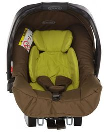 Graco CS Junior Rear Facing Baby Zig Zag Car Seat - Olive Green & Lime