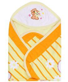 Tinycare Superior Baby Towel - Yellow