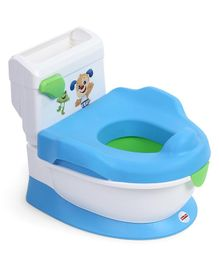 Fisher Price Laugh and Learn with Puppy Potty Chair - Blue