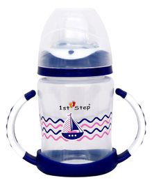 1st Step Twin Handle Sipper Cup Blue - 240 ml