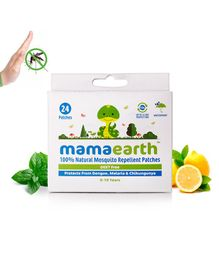 Mamaearth Natural Repellent Mosquito Patches - 24 Pieces
