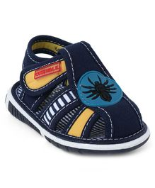 Cute Walk by Babyhug Sandals Velcro Closure - Navy Blue