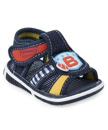 Cute Walk by Babyhug Sandals Alphabet Patch - Blue