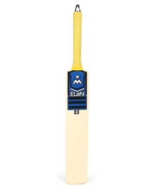 Elan Junior Cricket Bat Beige - Size 2