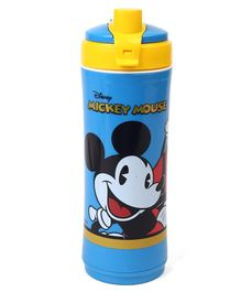 Disney Mickey Mouse & Friends Insulated Sipper Bottle Blue - 600 ml