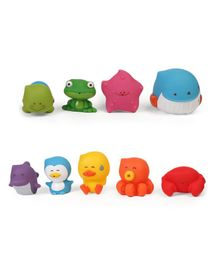 BKids Bath Toys Pack of 9 - Multi Color