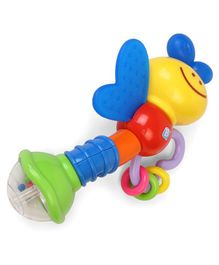 BKids Love Bug Rattle & Teether - Multicolour