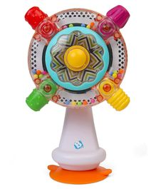 BKids Senso Spin Rattling Wheel - Multicolour